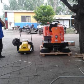 艾隆V2驾驶式扫地机,物业工厂用吸尘清扫车