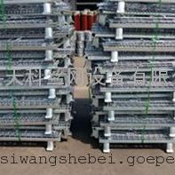 装零件的铁笼子 可折叠的仓储箱 仓库笼生产厂家