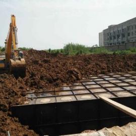 地埋式箱泵一�w化施工方案