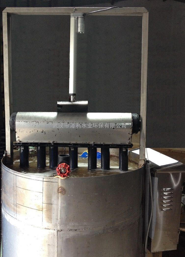 浮筒推杆式滗水器