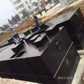 兴业100t碳钢一体化污水处理设备