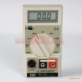 台湾TES-1500电容表