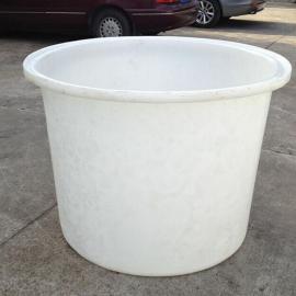 供应宁国塑料大圆桶800L辣椒腌制桶0.8吨泡菜圆桶规格