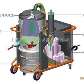 进口防爆工业吸尘器 大功率防爆车间粉尘吸尘机 大型吸尘器
