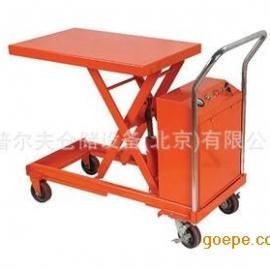 电动升降平台车可承重300kg货物电动升降台DPS30全电动搬运车现货