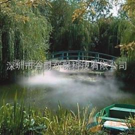 生态园绿化草坪喷雾加湿设备