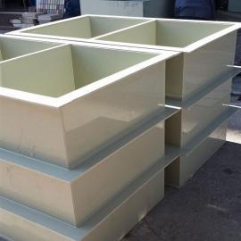 各种电镀酸洗槽PP电解槽聚丙稀防腐电镀槽专业生产厂家
