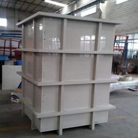 PP酸洗槽价格电解槽规格电镀槽尺寸酸洗槽厂家