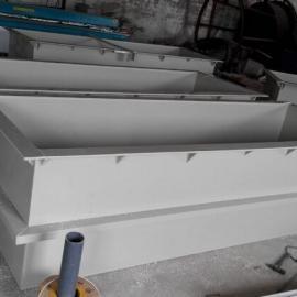 加工定制各种规格PP电镀槽酸洗槽电解槽氧化槽