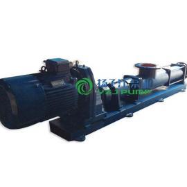 螺杆泵:G105-1型不锈钢防爆变频单螺杆泵