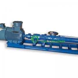 G35-1型 不锈钢单螺杆泵 G型单螺杆泵 压滤机专用泵