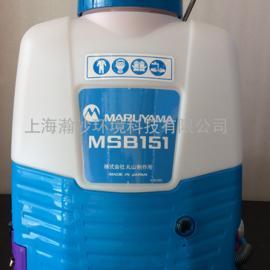 锂电池电动喷雾器 丸山msb151背负式喷雾器
