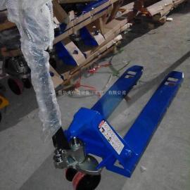 手动搬运车液压托盘车3T聚双地牛全电动搬运车电动堆高车叉车配件