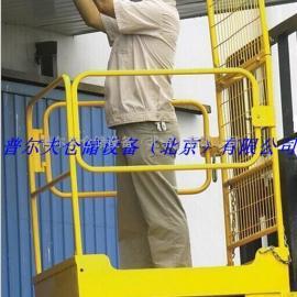 货叉载人平台座驾式铲车载人货架可带从轮运营平台NK30C铲车配套设施