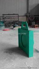 DN400玻璃钢圆拍门厂家