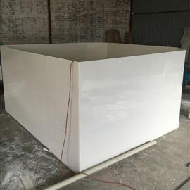 高青防腐蚀PP酸洗槽磷化槽加工定制电解电镀槽厂家