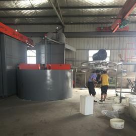 高密厂家定制塑料酸洗槽防腐酸洗槽PP电镀槽