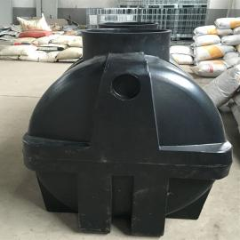 荣成耐腐蚀2立方生物化粪池一体化化粪池PE塑料化粪池