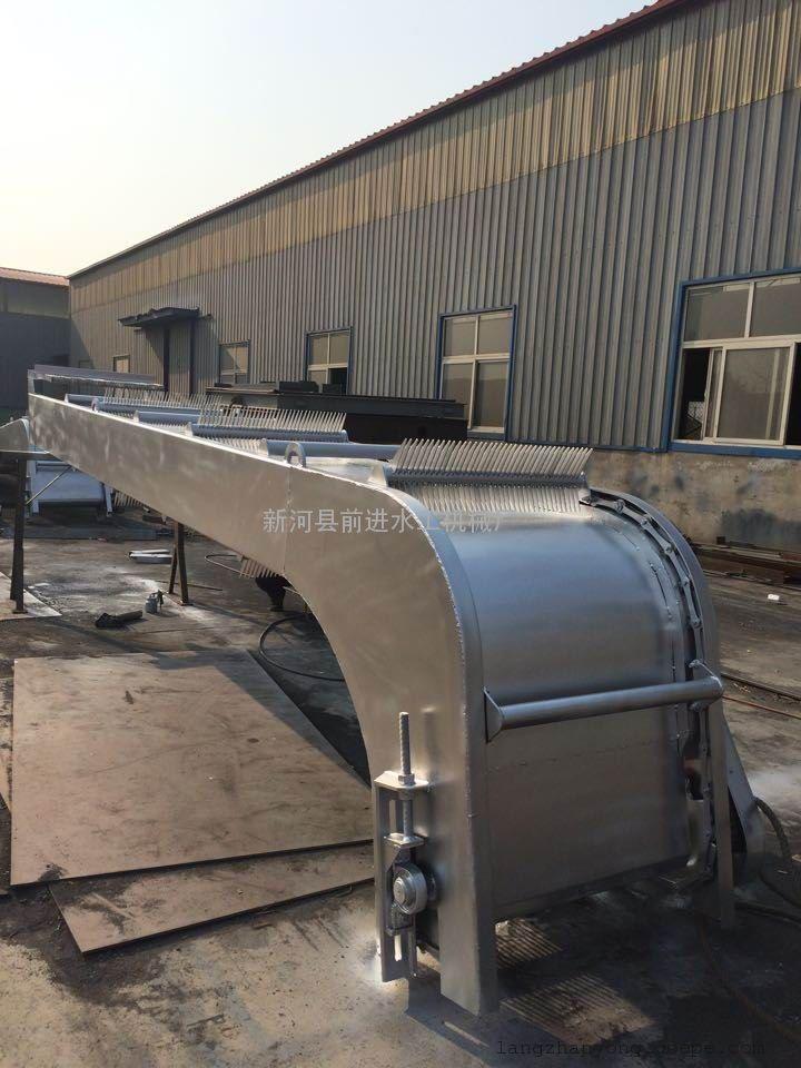 加格达奇2016***新订购产品反捞式格栅除污机