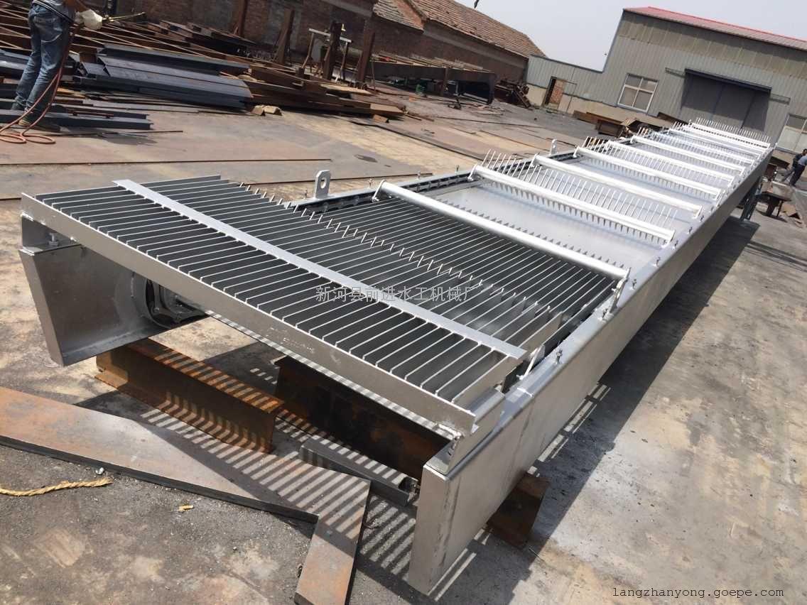 回转式格栅除污机安装角度电机功率