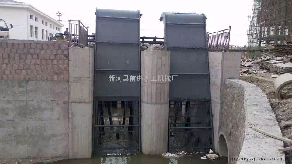 前进水工高效雨水泵站专业反捞式格栅除污机厂家信息