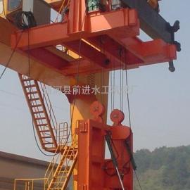 HDG移动式液压抓斗清污机栅条间隙说明