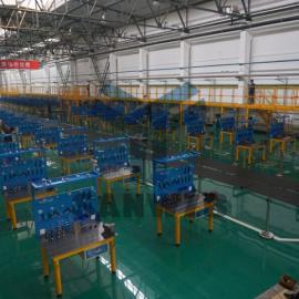 三威好焊台,机器人焊接平台,焊接技能大赛使用工装平台