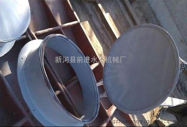 节能型侧开式拍门 双开式钢制拍门