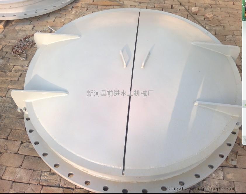 节能型侧开式拍门 钢制侧翻拍门价格