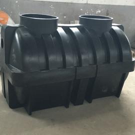供应永修小型家用2吨化粪池2立方PE塑料化粪池价格