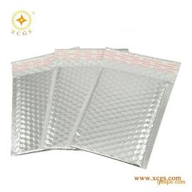 深圳供应印刷银色镀铝膜复合气泡袋邮政快递包装袋