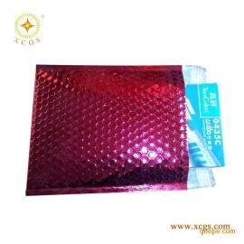 广东直销彩色镀铝膜复合气泡袋邮政快递包装袋
