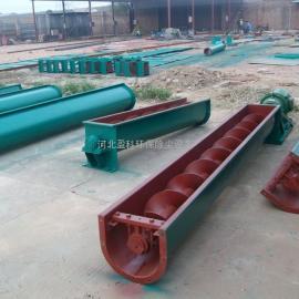 矿粉螺旋输送机吉林长岭环保设备厂家制作安装