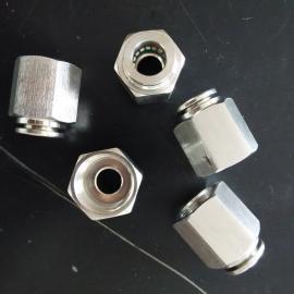 不锈钢快插内螺纹直通/PCF