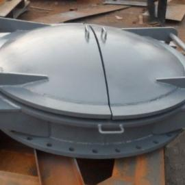 DN500单向铸铁拍门厂家直销现货供应