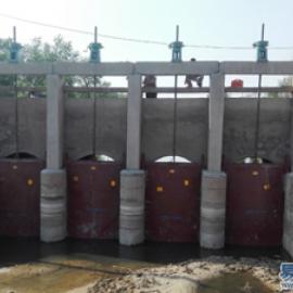 双向铸铁闸门2.0米*2.0米专供湖北安徽贵州