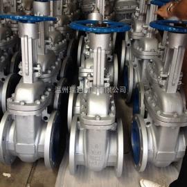 美标碳钢法兰闸阀Z41H-150LB