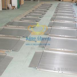 【化工专用】不锈钢超低双层平台秤 0.5T防水电子地磅