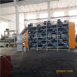 51米七层|五层网带式|挂杆式|滚筒式橡胶冷却生产线