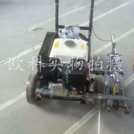 厂家直销塑胶跑道划线机 冷喷隔膜泵划线机 停车位划线机
