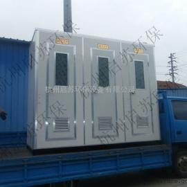 义乌工地移动厕所,景区生态厕所厂家
