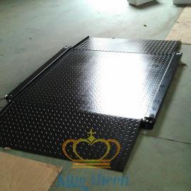 【亚津】超低碳钢双层平台秤 U型碳钢防水电子地磅