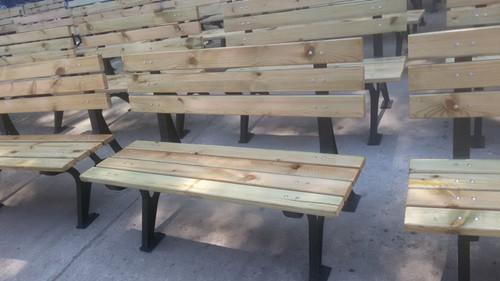 防腐木椅子-木头座椅-公共座椅-木质椅子