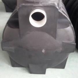 汉寿1立方小型家用化粪池一体化化粪池PE塑料化粪池
