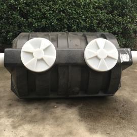 黄冈1立方小型家用PE化粪池1.5立方三格污水处理池沉淀化粪池