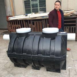 岳阳无焊接PE1吨小型家用化粪池精品生活污水处理化粪池
