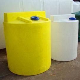 永州2吨全自动加药装置PAC加药设备圆形加药箱PE加药箱
