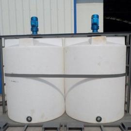 供应娄底2000L全自动加药装置PAC加药设备圆形加药箱