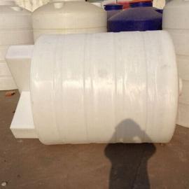 供应2000L全自动加药装置2立方PE加药箱圆形加药箱