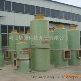华强设计  玻璃钢脱硫除尘器  厂家直销  技术说明